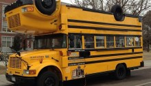 reversible school bus