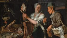 Working Title/Artist: Kitchen SceneDepartment: European PaintingsCulture/Period/Location: HB/TOA Date Code: Working Date: 1620s photography by mma, Digital File DP146469.tif retouched by film and media (jnc) 10_11_12