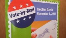 Vote! [Vote by Mail sign] By robertstinnet.