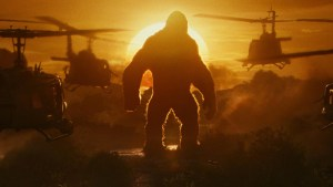 Kong with choppers