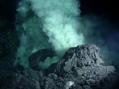 underwater volcano photo