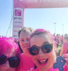 We did it! brigetdotdot glenyoung pinklove instawalk walkdurban pinkdrive
