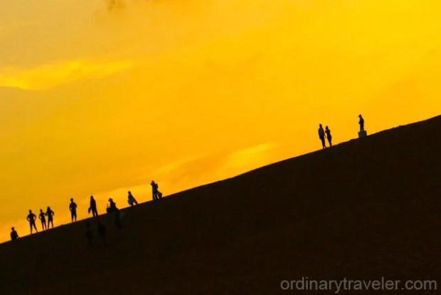 Sunset Mui Ne Sand Dunes Vietnam