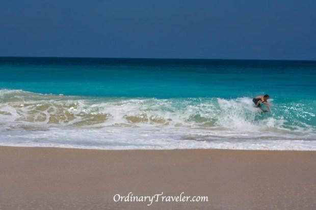 Surfer Bukit Peninsula Bali Indonesia