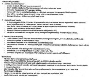 Job Description Of Financial Manager  Account Manager Job Description