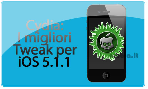 Migliori tweak di Cydia per iOS 5.1.1 classifica