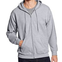 Hanes-Mens-Full-Zip-EcoSmart-Fleece-Hoodie-0