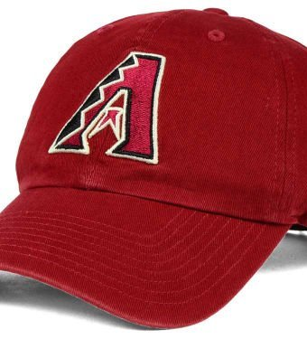 MLB-Arizona-Diamondbacks-Clean-Up-Adjustable-Hat-Razor-Red-One-Size-0