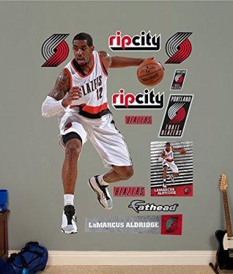 NBA-Portland-Trail-Blazers-LaMarcus-Aldridge-No-12-Fathead-Real-Big-Decals-48W-x-78H-0