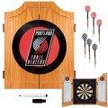 NBA-Portland-Trail-Blazers-Wood-Dart-Cabinet-Set-0