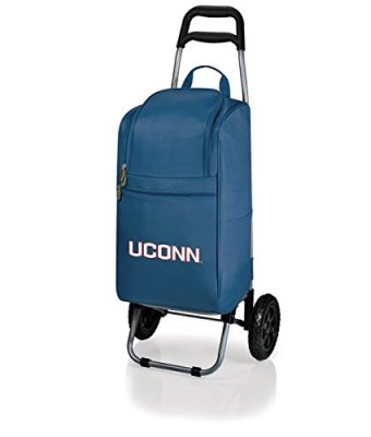 NCAA-Insulated-Cart-Cooler-with-Wheeled-Trolley-0