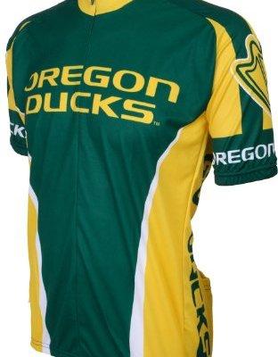 NCAA-Oregon-Ducks-Cycling-Jersey-GreenYellow-0
