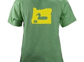 Classic-Vintage-I-Duck-Oregon-Original-T-Shirt-XL-Green-0