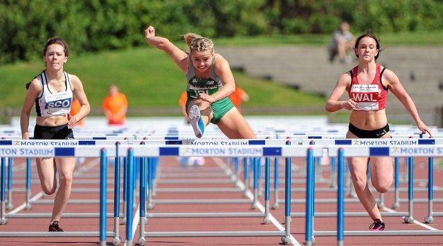 100 hurdles
