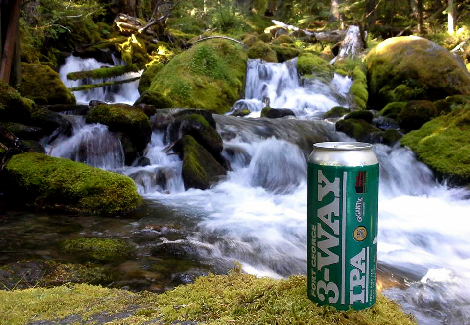 Three Way IPA - courtesy of Fort George Brewery