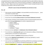 Pre‐purchase Self‐assessment Questionnaire