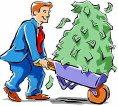 cash to buy legislative votes