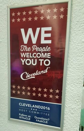 RNC 2016_welcome sign