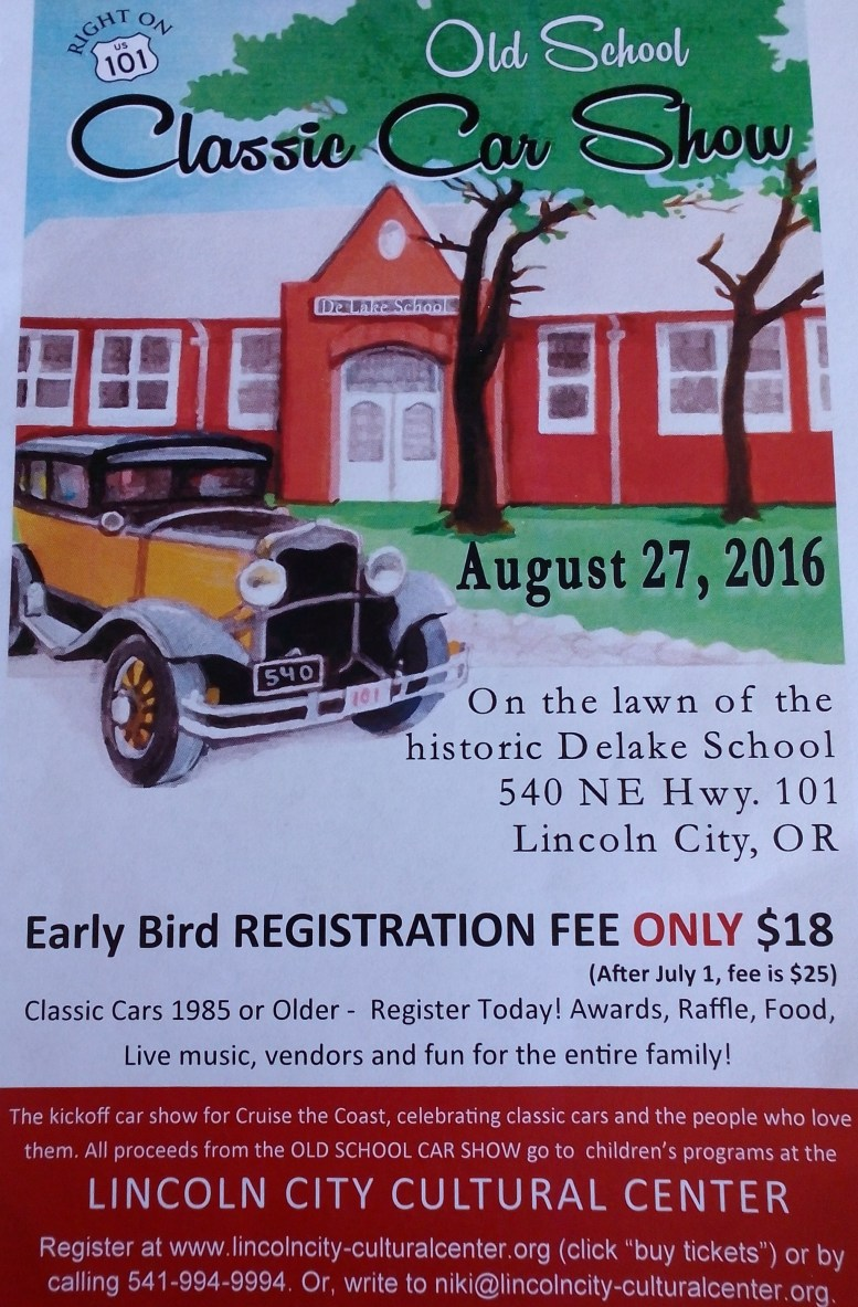 Classic Car Show Lincoln City Aug 2016