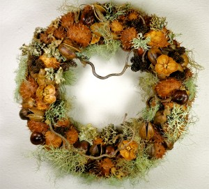 Tillamook Forest Center Found in the Forest Wreath