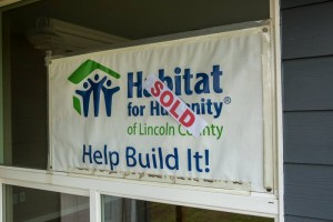 Habitat for Humanity of Lincoln County plans to build two duplexes and one single family home on land donated by the City of Newport. It will be the first time the organization has built in Newport since it formed in 1992 (Photo: Habitat for Humanity of Lincoln County)