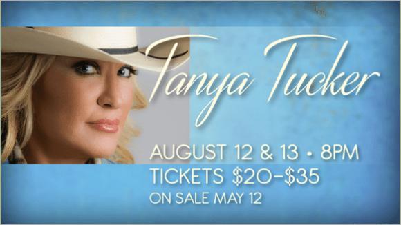 Tanya Tucker Chinook Winds August 2016