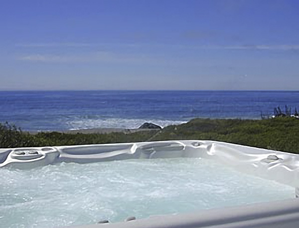 Hot Tub at Spirit Cove Beach House