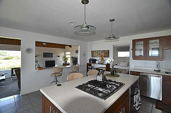 Lands End beach House Kitchen