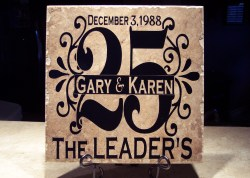 Cheerful Personalized Wedding Anniversary Gift Tiles 25th Anniversary Gifts To Parents 25th Anniversary Gifts Ideas Parents