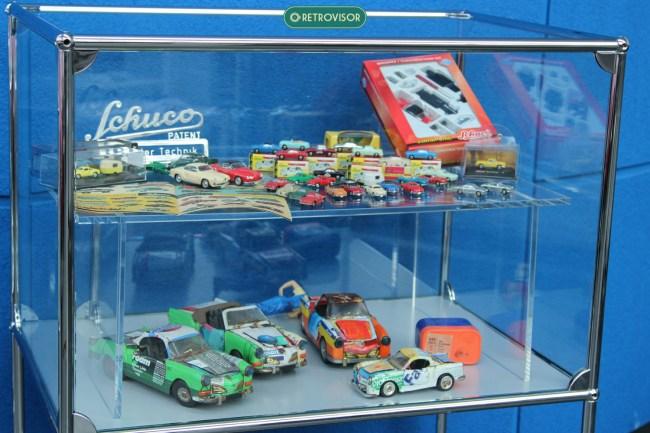 Miniaturas também chamam a atenção dos aficcionados visitantes