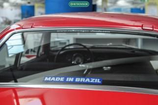 Adesivo mostra o orgulho de ser brasileiro