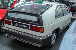 o Auto 2000 também foi um projeto que visava a economia de combustível. Seu desenho inspirou a terceira geração do Passat