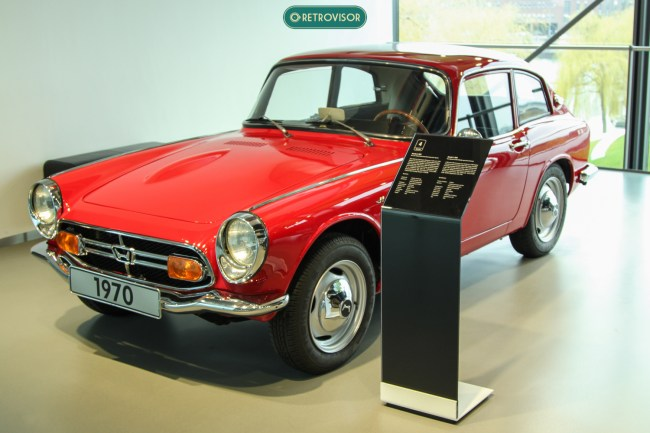 Muita gente se surpreende ao ver um Honda de antes dos anos 80