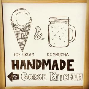 Gorge Kitchen=IceCream+Kombucha