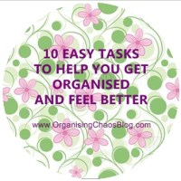 10 EASY TASKS THAT WILL HELP YOU KEEP YOUR HOUSE ORGANISED AND FEEL BETTER