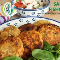 SALMON FISH-CAKES