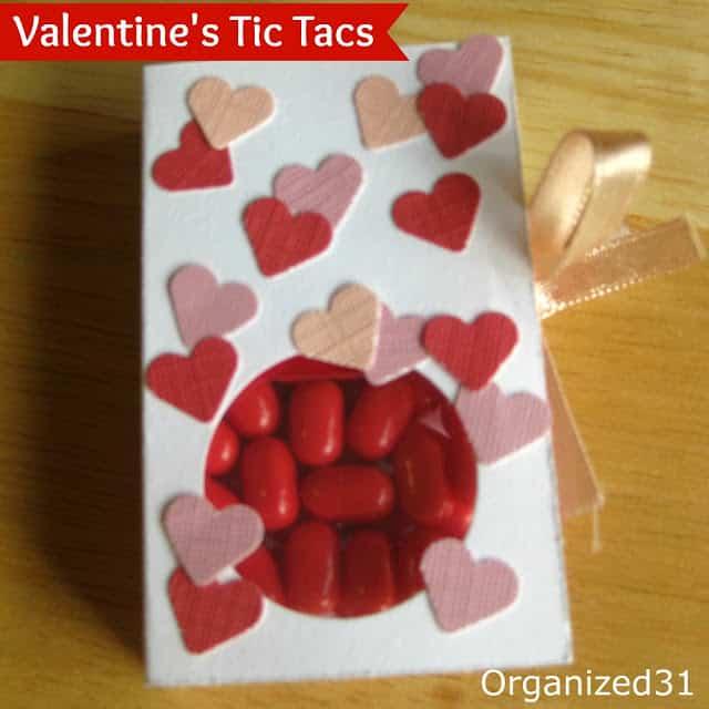 Organized31 - Valentine's Tic Tac Treat