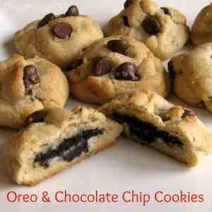 Oreo Surprise Chocolate Chip Cookies - Organized 31