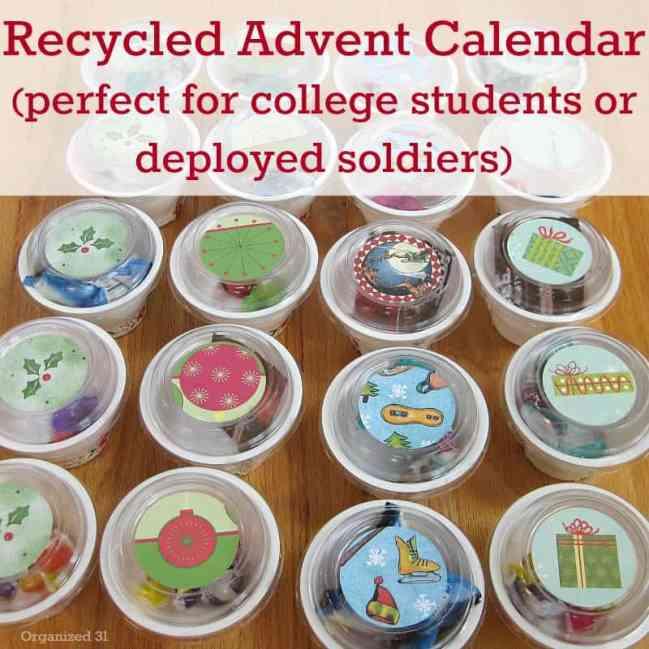 Diy Advent Calendar - Organized 31 DIY & Crafts Holiday & events