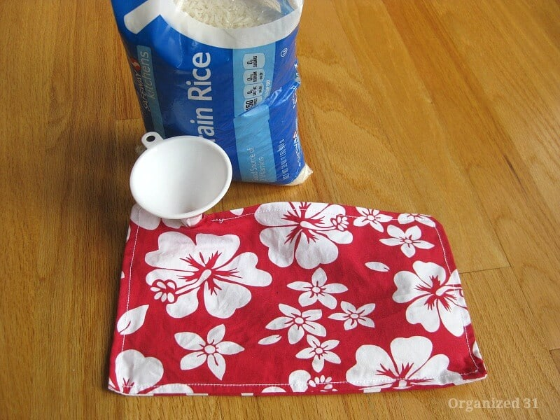 DIY Rice Heat Packs - Organized 31