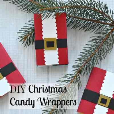 DIY Christmas Candy Wrapper