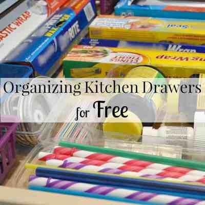 Organizing Kitchen Drawers for Free