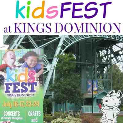 KidsFEST at Kings Dominion for Kids of All Ages