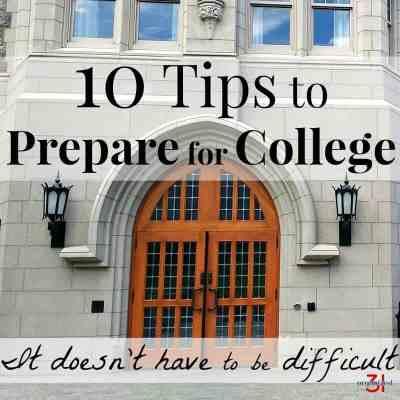 10 Tips to Prepare for College