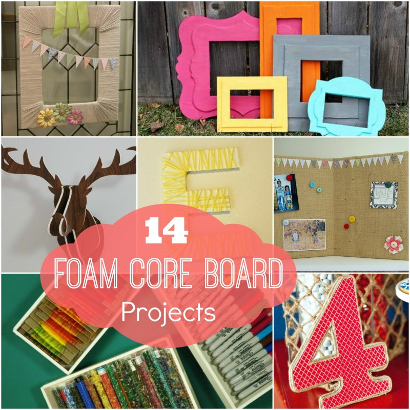 Genuine Decorate Everything Decorative Poster Board Ideas Foam Core Foam Core Board Projects Organize