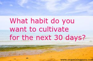 30 days to a great habit