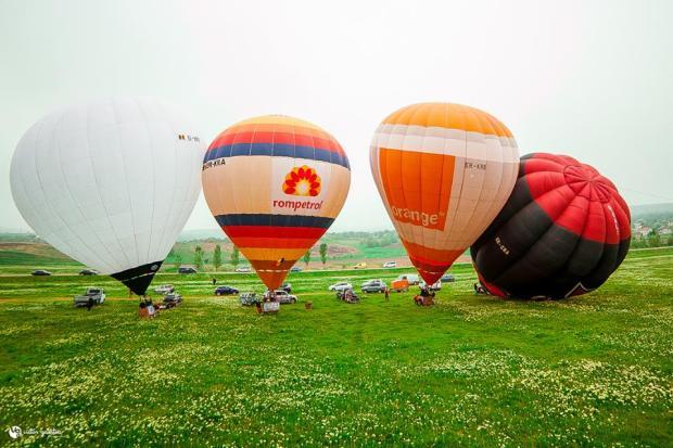zbor cu balonul moldova