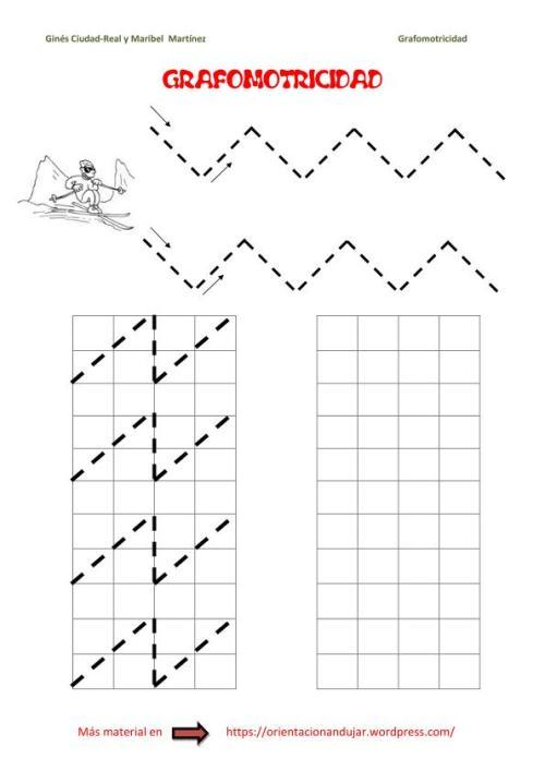 grafomotricidad-zig-zag