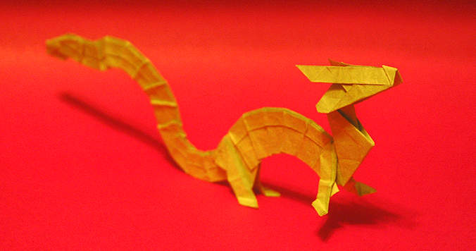 Origami Easter Dragon de Joseph Wu