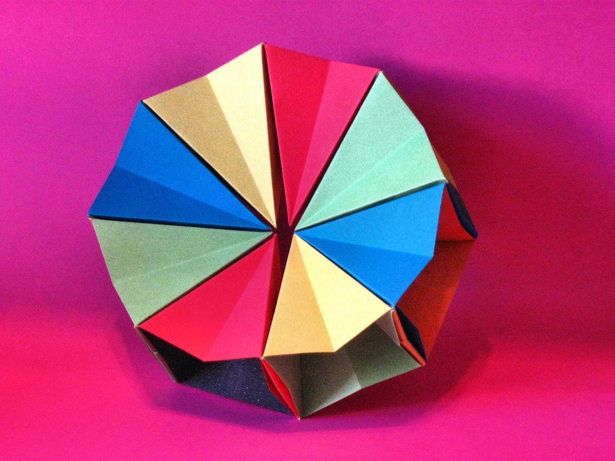 origami magic circle origami kawakami